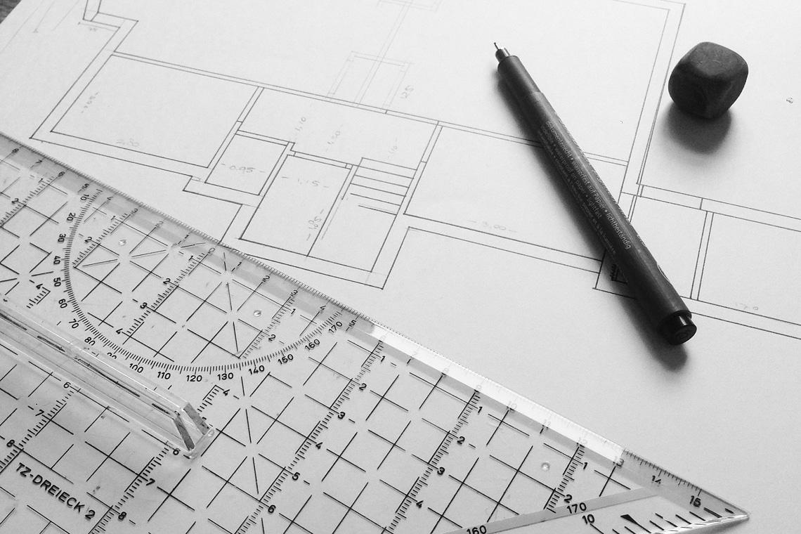 Comment faire un plan d'une maison sur papier?
